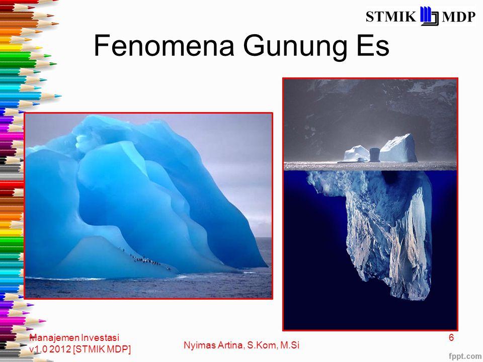 Fenomena Gunung Es Manajemen Investasi v1.0 2012 [STMIK MDP]